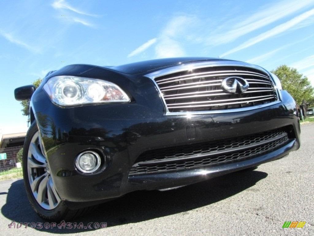 2012 M 37 Sedan - Black Obsidian / Graphite photo #1