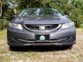 Honda Civic LX Sedan Modern Steel Metallic photo #2