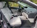 Honda Civic LX Sedan Modern Steel Metallic photo #11
