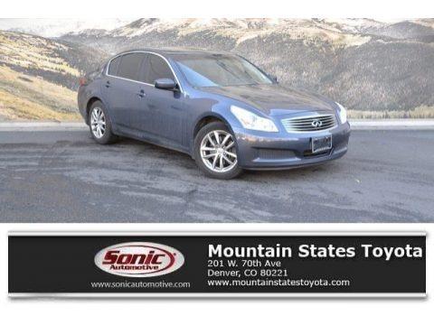 Blue Slate Metallic 2009 Infiniti G 37 x Sedan