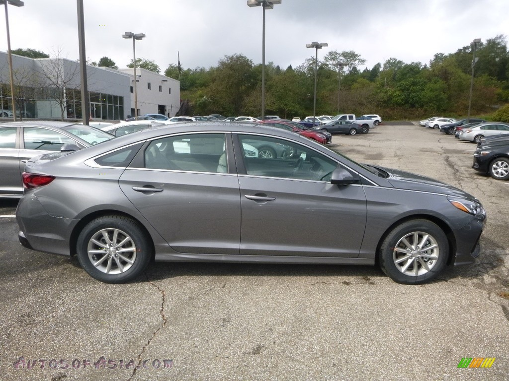 2019 Sonata SE - Machine Gray / Gray photo #1