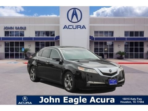 Crystal Black Pearl 2011 Acura TL 3.5 Technology