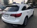 Acura MDX SH-AWD Technology White Diamond Pearl photo #7