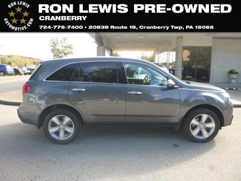 Polished Metal Metallic 2012 Acura MDX SH-AWD