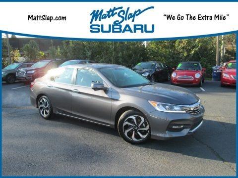 Modern Steel Metallic 2016 Honda Accord EX-L Sedan