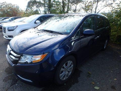 Obsidian Blue Pearl 2016 Honda Odyssey EX