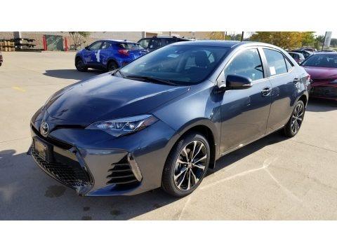 Slate Metallic 2019 Toyota Corolla XSE