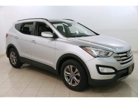 Moonstone Silver 2014 Hyundai Santa Fe Sport FWD