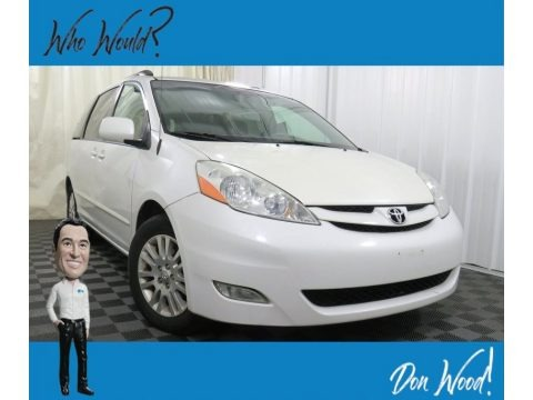Natural White 2008 Toyota Sienna XLE