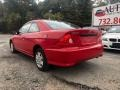 Honda Civic Value Package Coupe Rallye Red photo #4