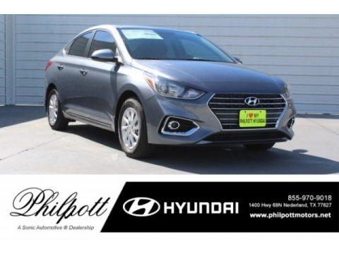 Urban Gray 2019 Hyundai Accent SEL