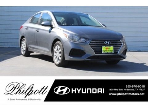Urban Gray 2019 Hyundai Accent SE