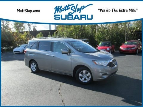 Platinum Graphite 2012 Nissan Quest 3.5 SV