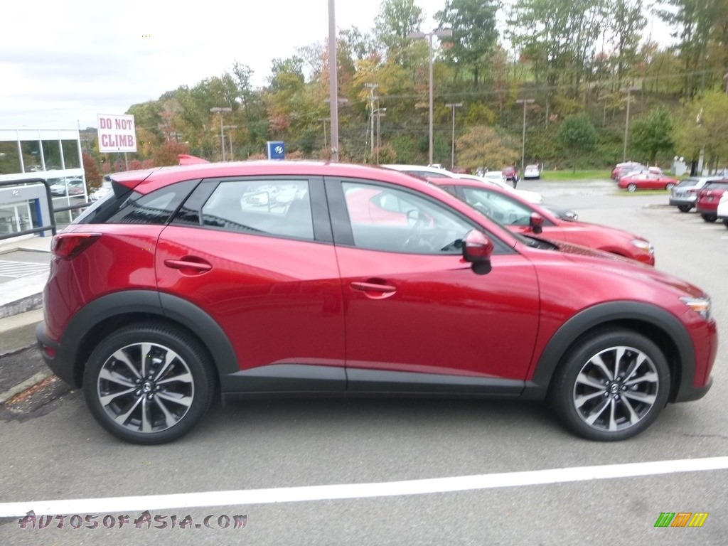 2019 CX-3 Touring AWD - Soul Red Metallic / Black photo #1