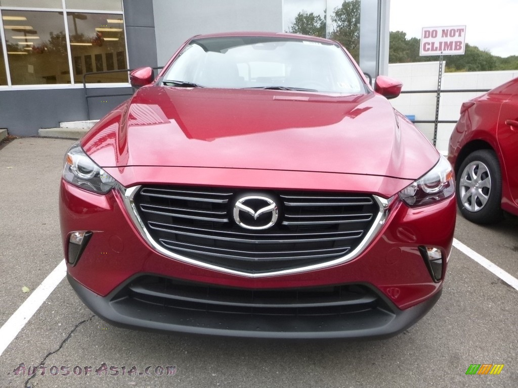 2019 CX-3 Touring AWD - Soul Red Metallic / Black photo #5