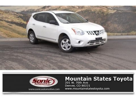 Pearl White 2012 Nissan Rogue S AWD