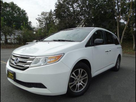 Taffeta White 2011 Honda Odyssey EX-L