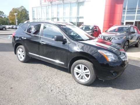 Super Black 2015 Nissan Rogue Select S AWD