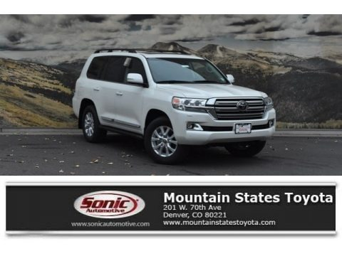 Blizzard White Pearl 2019 Toyota Land Cruiser 4WD