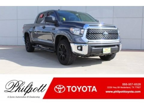 Magnetic Gray Metallic 2019 Toyota Tundra TSS Off Road CrewMax