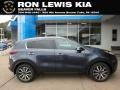 Kia Sportage EX AWD Pacific Blue photo #1