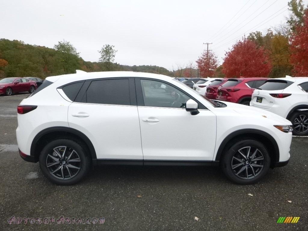 2018 CX-5 Touring AWD - Snowflake White Pearl Mica / Black photo #1