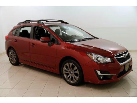 Venetian Red Pearl 2016 Subaru Impreza 2.0i Sport Premium