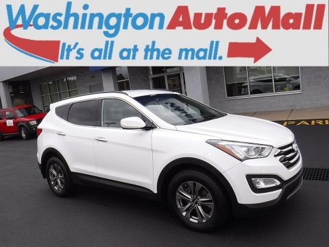 Frost White Pearl 2016 Hyundai Santa Fe Sport AWD