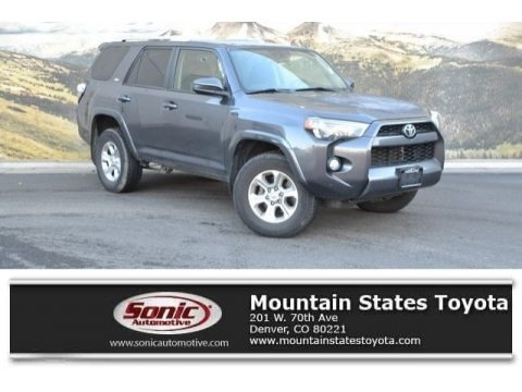 Magnetic Gray Metallic 2016 Toyota 4Runner SR5 4x4