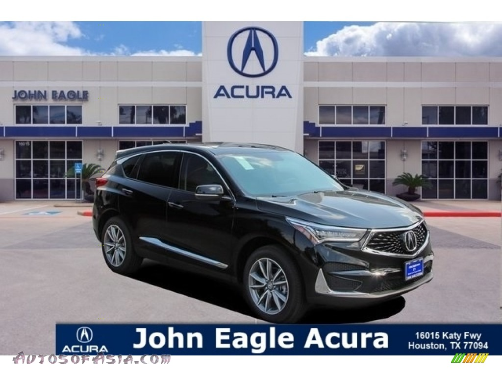 Majestic Black Pearl / Ebony Acura RDX Technology