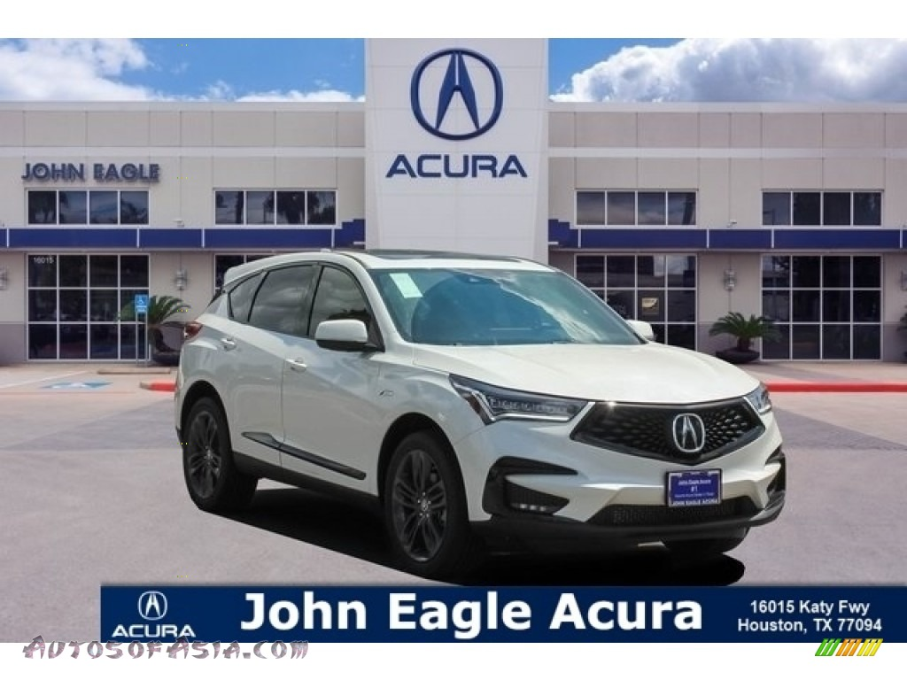 White Diamond Pearl / Ebony Acura RDX A-Spec