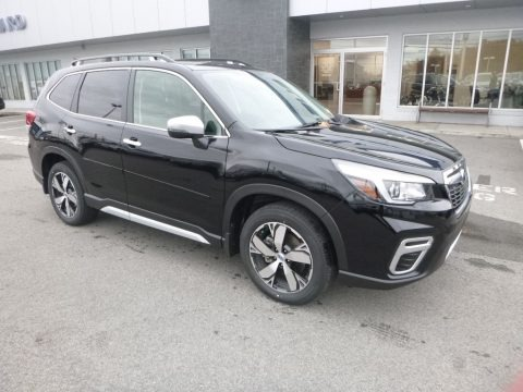 Crystal Black Silica 2019 Subaru Forester 2.5i Touring