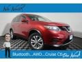 Nissan Rogue SV AWD Cayenne Red photo #1