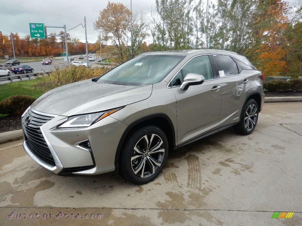2019 RX 450h AWD - Atomic Silver / Stratus Gray photo #1