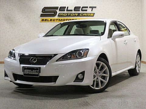 Starfire White Pearl 2012 Lexus IS 250 AWD