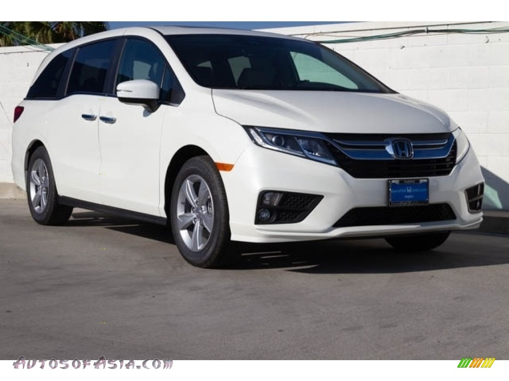 2019 Odyssey EX-L - White Diamond Pearl / Beige photo #1
