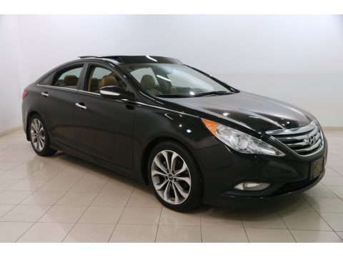 Phantom Black Metallic 2014 Hyundai Sonata Limited 2.0T