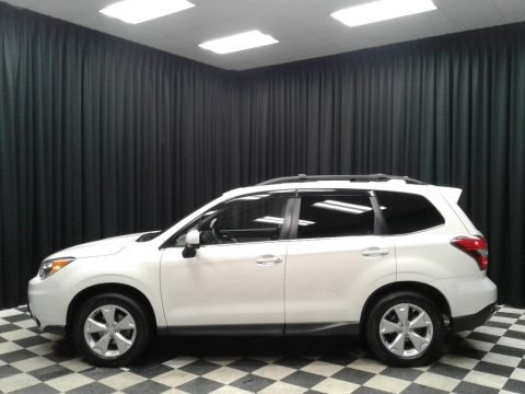 Crystal White Pearl 2016 Subaru Forester 2.5i Limited