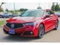Acura TLX V6 A-Spec Sedan San Marino Red photo #3