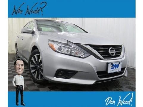 Brilliant Silver 2017 Nissan Altima 2.5 SV
