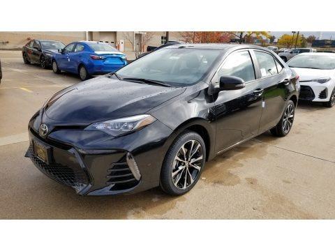 Black Sand Pearl 2019 Toyota Corolla SE