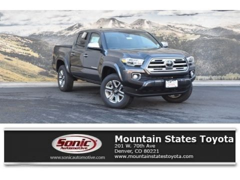 Magnetic Gray Metallic 2019 Toyota Tacoma Limited Double Cab 4x4