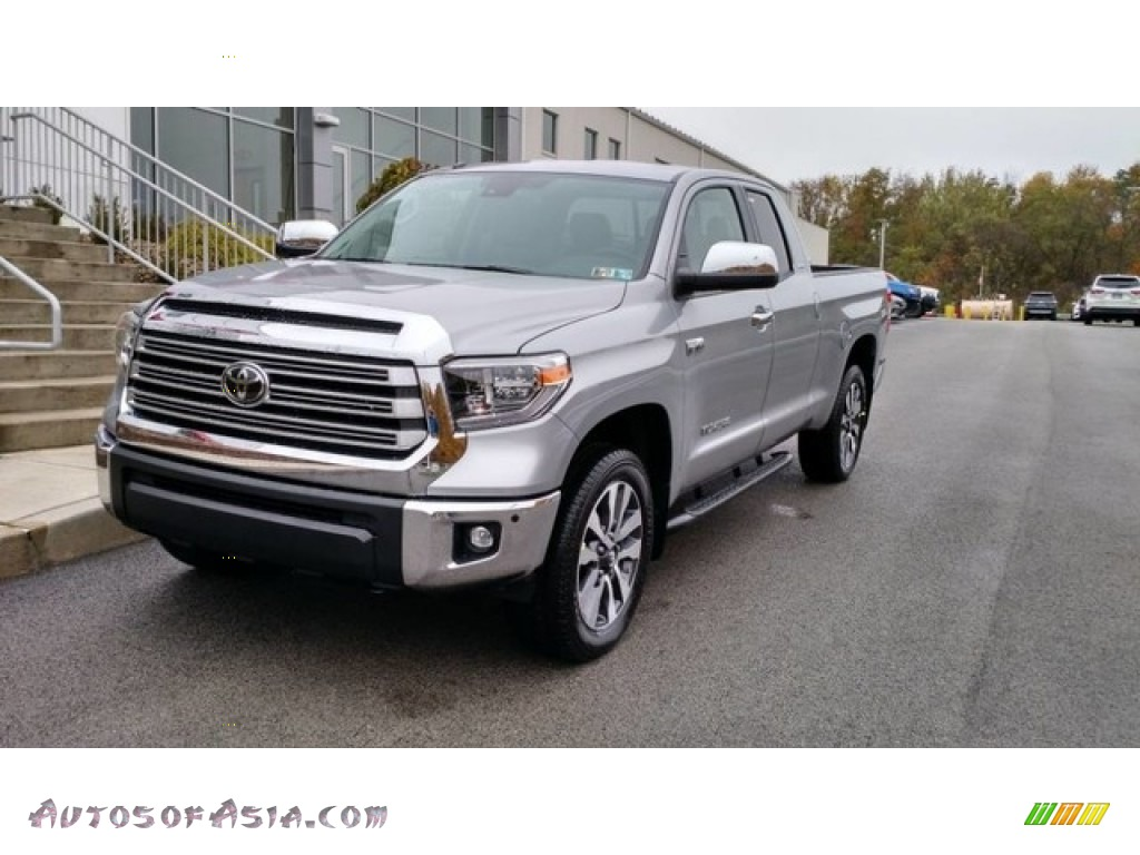 2019 Tundra Limited Double Cab 4x4 - Silver Sky Metallic / Graphite photo #1