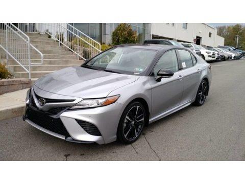 Celestial Silver Metallic 2019 Toyota Camry XSE