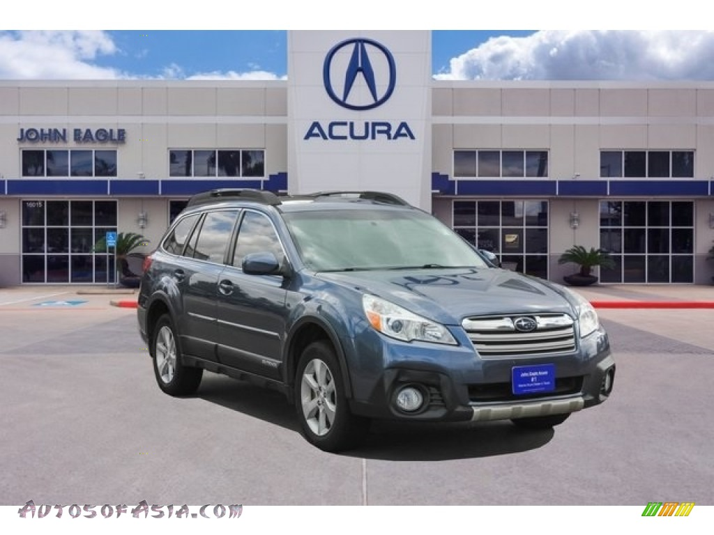 2014 Outback 3.6R Limited - Twilight Blue Metallic / Black photo #1