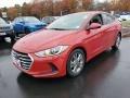 Hyundai Elantra SE Red photo #3