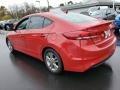 Hyundai Elantra SE Red photo #5