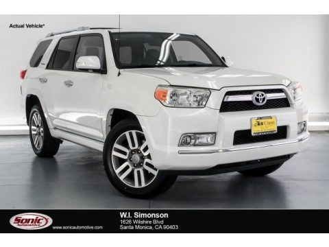 Blizzard White Pearl 2011 Toyota 4Runner Limited