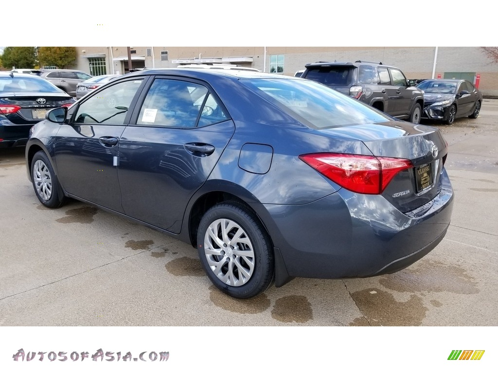 2019 Corolla LE - Slate Metallic / Ash/Dark Gray photo #2