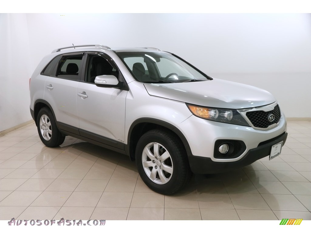 2011 Sorento LX AWD - Bright Silver / Black photo #1
